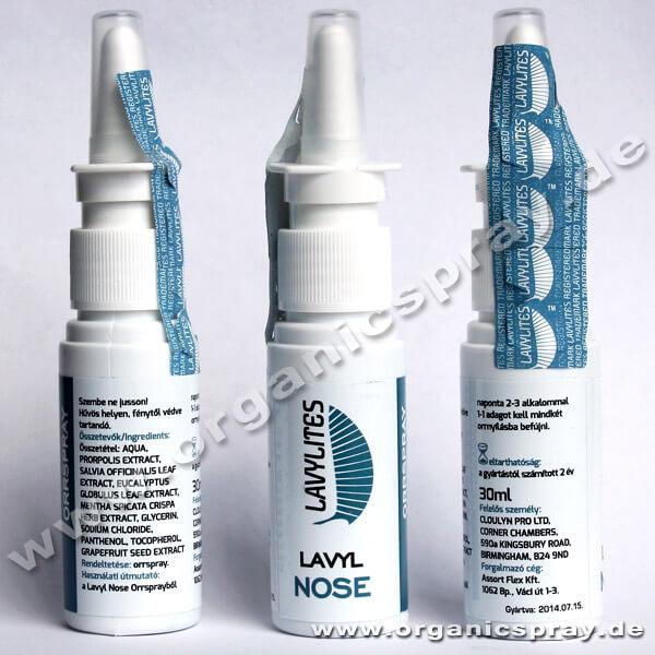 lavyl nose Nasenspray