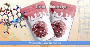 Vitapenta Lady Multivitamin-Fruchtgummi für Frauen